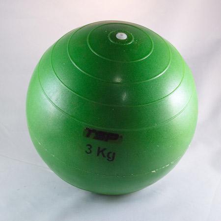 PELOTA MEDICINE BALL Nº5 3 KILOS CON PIQUE TSP 58a8080aa18e